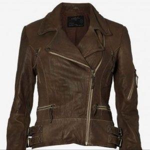 Allsaints Eisen Leather Jacket